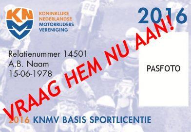 Basis Sportlicentie